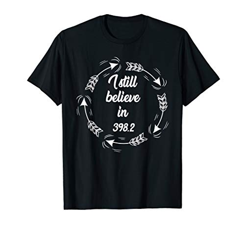 I Still Believe In 398.2 Fairy Tale Section Library Gift T-Shirt