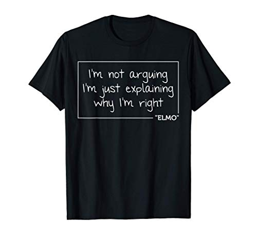 ELMO Quote Funny Birthday Personalized Name Gift Idea T-Shirt