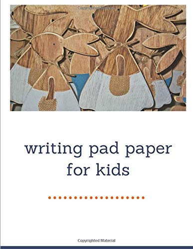 writing pad paper for kids: Notebook lined large : composition journal 3rd grade/ elementary lined paper/ elementary school writing paper/elementary ... kindergarten writing paper/line notebook