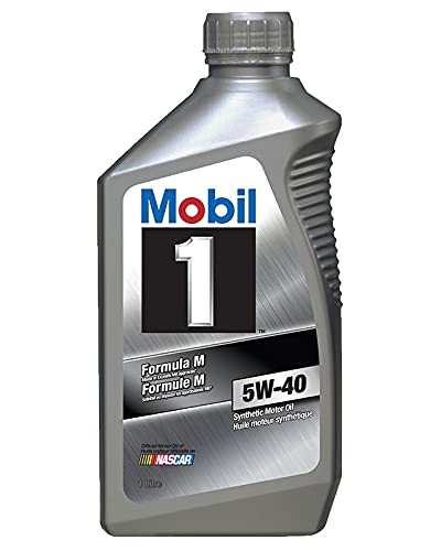 ExxonMobil Mobil 1 Formula M 5W-40 Motor Oil, 6 X 1 Liter