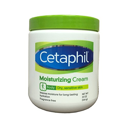 Cetaphil Moisturizing Cream for Dry, Sensitive Skin, Fragrance Free, Non-comedogenic, 20 Oz Each (Pack of 2)