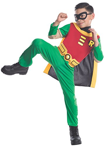 Teen Titans Child's Robin Costume, Small (3 - 4 year)