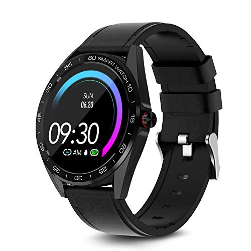 MAXTOP Smart Watch Compatible with iPhone and Android Phones,Smartwatch Fitness Tracker IP67 Swimming Waterproof with Heart Rate Blood Pressure Sleep Monitor Activity Tracker for Men Women
