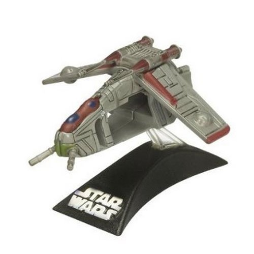 Star Wars Titanium Series 2008 Diecast Mini Republic Gunship (style and colors may vary)