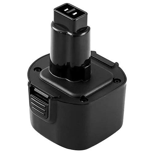 Forrat Replacement for Dewalt 9.6V 3.6Ah Ni-Mh Battery DW9062 DW9061 DW952 Dw926 Dw911 DE9036 DE9062 DW9614 DW050 DW902 DW911 DW921 DW926k DW926k2 DW955