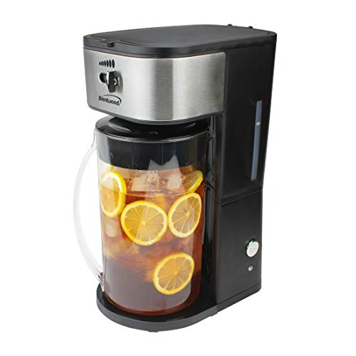 Brentwood KT-2150BK Iced Tea and Coffee Maker with 64 Ounce Pitcher, Black