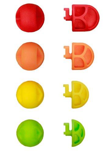 Teeter Hang Ups 'Better Back Adjustable Acupressure Nodes, Red/Orange/Yellow/Green