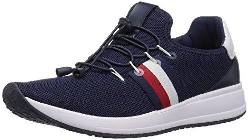 Tommy Hilfiger Women's RHENA Sneaker, Navy, 8.5