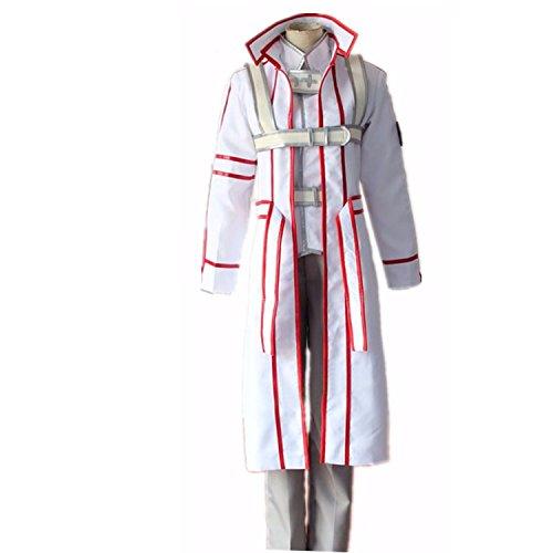 MYYH Anime Kazuto Kirigaya Kirito Cosplay Blood Knight Uniform Costume