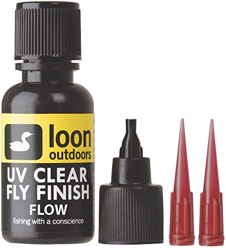 Loon Outdoors UV Clear Fly Finish, Flow, 1/2 oz
