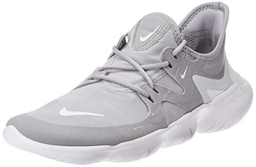 Nike Men's Free RN 5.0 Running Shoe (11 M US, Wolf Grey/White/Pure Platinum)