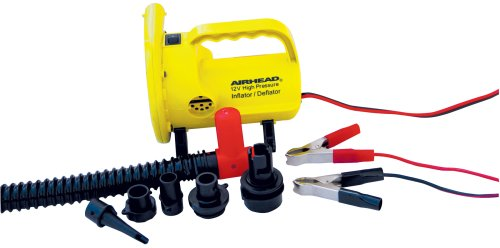 Airhead High Pressure Air Pump, 12v, Yellow (AHP-12HP)