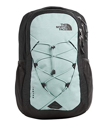 The North Face Women's Jester Backpack, Windmill Blue Splinter Light Heather/Asphalt Grey Light Heather, One Size