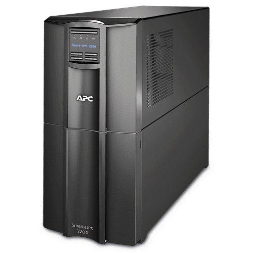 APC Smart-UPS 2200VA UPS Battery Backup with Pure Sine Wave Output (SMT2200)
