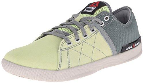 Reebok Women's RCF lite lo tr Poly-w, Citrus Glow/Silvery Green/Flat Grey/Steel, 7 M US