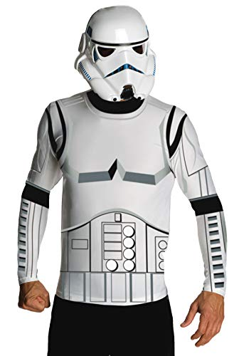 Star Wars Adult Stormtrooper Costume Kit, White, Medium