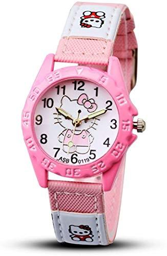 Hello Kitty - Super Cute Sport Style Wrist Watch (Pink)