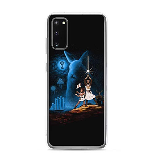 Monty Python Holy Grail Rabbits Clear Cases Cover Compatible for Samsung Galaxy S20