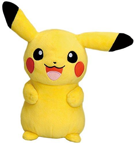 TAKARA TOMY Pikachu Talking Plush Doll with Meowth shaped translator