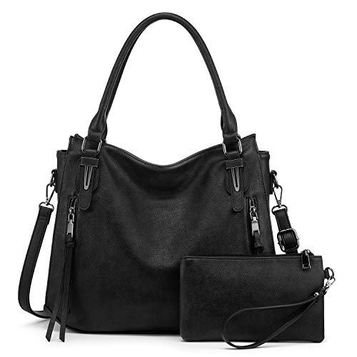 Realer Handbags for Women Large Crossbody Hobo Bags, with Matching Wallet