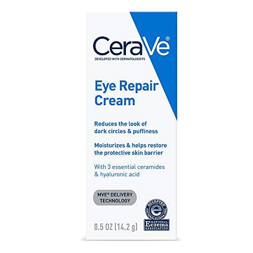 CeraVe Eye Repair Cream   0.5 oz   Eye Cream for Dark Circles & Puffiness   Fragrance Free