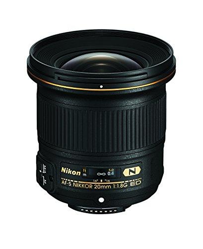 Nikon AF-S FX NIKKOR 20mm f/1.8G ED Fixed Lens with Auto Focus for Nikon DSLR Cameras