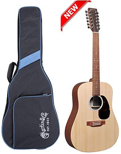 Martin D-X2E 12-String Sitka/Mahogany HPL Natural w/Fishman MX & Gig Bag