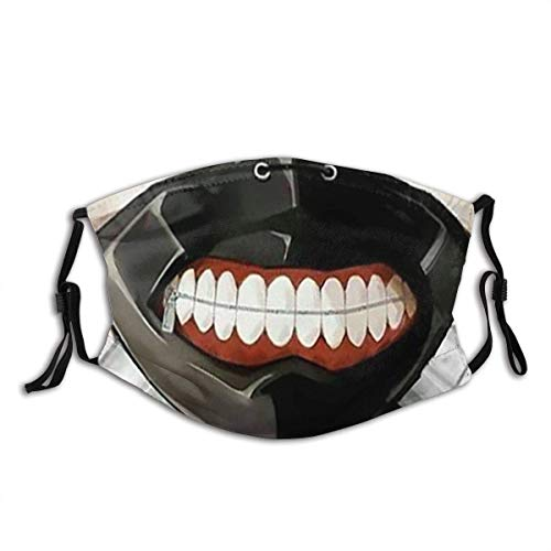 Kaneki Ken Dust Masks Full Face Mask Dust-Proof Sunscreen Turban Mask Headdress Mouth Masks with Filters