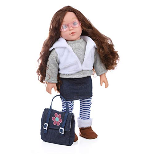 Beverly Hills Doll Collection 18 Inch Doll Emma, Realistic Dolls for Girls with Complete Outfit