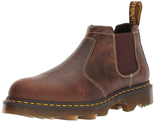 Dr. Martens mens PENLY Chelsea TAN GREENLAND, 8