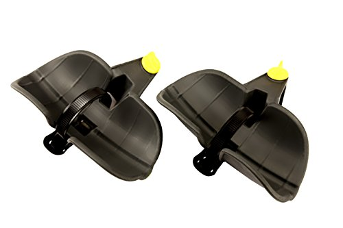 Saris Freedom Fat Tire Wheel Holder, Bicycle Rack Accessory, Black, One Size (4419)