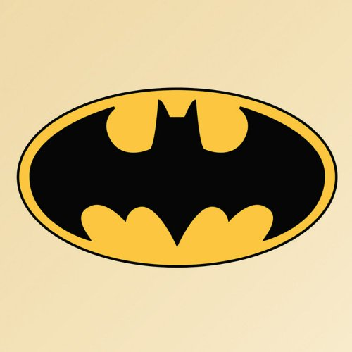 FATHEAD Batman: Logo-Giant Officially Licensed DC Removable Wall Decal