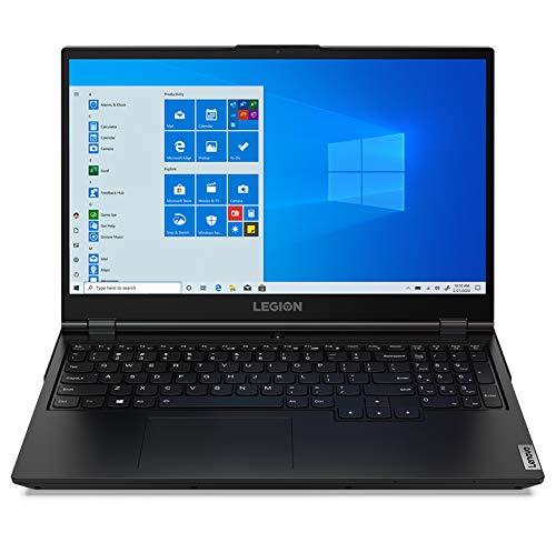 Lenovo Legion 5 Gaming Laptop, 15.6' FHD IPS Display, AMD Ryzen 5 4600H, Webcam, Backlit Keyboard, Wi-Fi 6, USB-C, HDMI, GeForce GTX 1650 Ti, Windows 10 Home, 8GB Memory, 256GB PCIe SSD + 1TB HDD