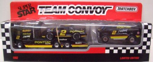 Matchbox Team Convoy #2 Pontiac - Rusty Wallace 1:64 Scale Diecast