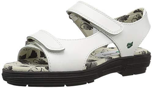 Golfstream Women's Two Strap Sandal Sport, White, 7 M US