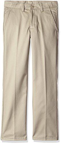 Dockers Little Boys' Pleated Twill Pant, New Khaki, 6