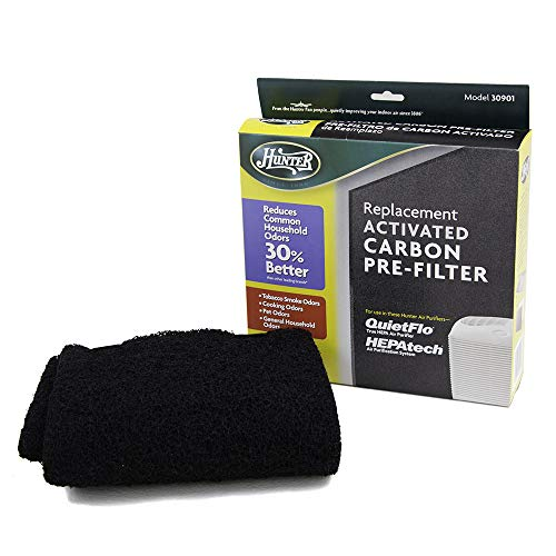HUNTER 30901 Replacement Pre-Filter Sheet for HEPAtech Quiet Flo Air Purifiers