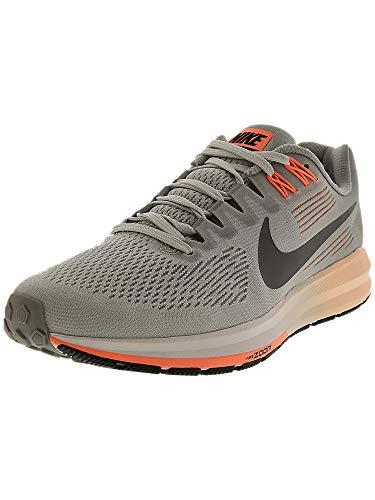 Nike Women's Air Zoom Structure 21 Running Shoe Wolf Grey/Dark Grey-Pure Platinum 8.5