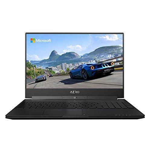 GIGABYTE Aero 15W v8-BK4 15' Ultra Slim Gaming Laptop 144Hz FHD X-Rite i7-8750H, GeForce GTX 1060, 16G RAM, 512GB SSD, Metal Chassis, RGB Keyboard