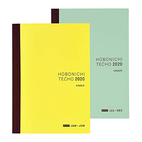 Hobonichi Techo Cousin Avec Book (Japanese/A5/Jan 2020 Start/2-Book Set)