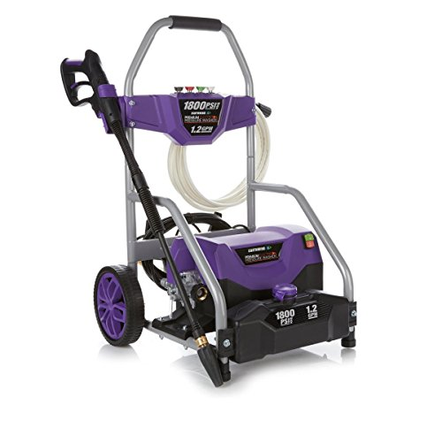 Earthwise 1800 PSI Electric Pressure Washer with Turbo Wand - Purple