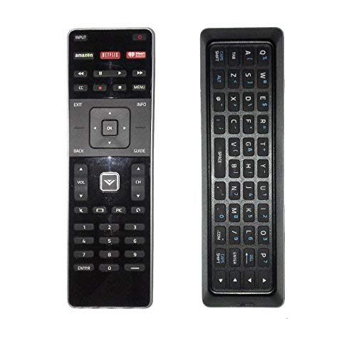 VIZIO M502I-B1 TV REMOTE CONTROL W/ KEYBOARD AND MANUAL (Certified Refurbished)