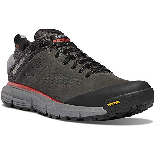 Danner Men's 61200 Trail 2650 3' Gore-Tex Hiking Shoe, Dark Gray/Brick Red - 10.5 D