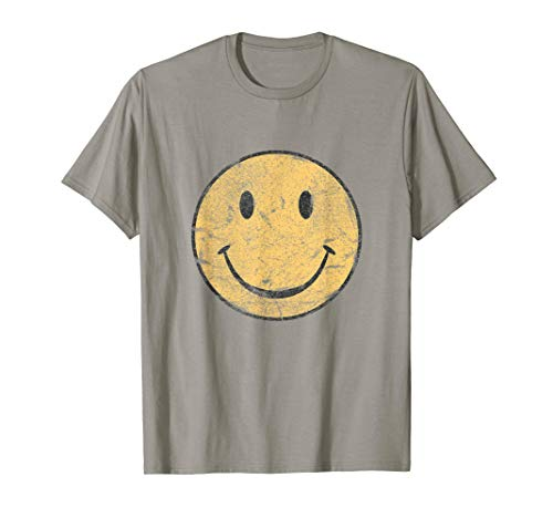 Vintage SMILE FACE | 70's Vibe | Yellow Smile T-Shirt