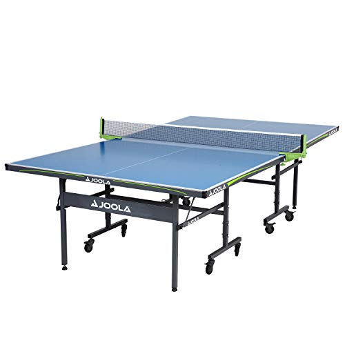 JOOLA Table Tennis Table with Waterproof Net Set   All Weather Aluminum Composite Ping Pong Table for Tournament Quality Play   Indoor & Outdoor Compatible   10 Minute Easy Assembly