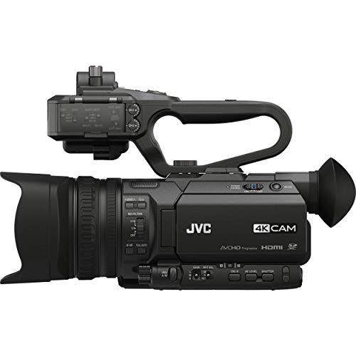 JVC GY-HM170UA Camcorder, 3.5', Black