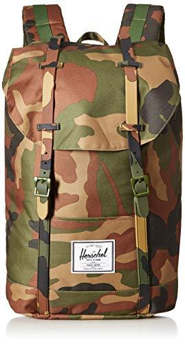 Herschel Retreat Backpack, Woodland Camo/Woodland Camo, Classic 19.5L