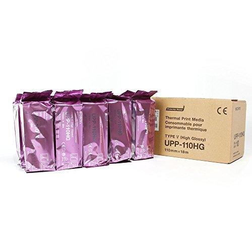 Sony UPP-110HG Thermal Print Media Video Imaging Paper 1box (10 Rolls)
