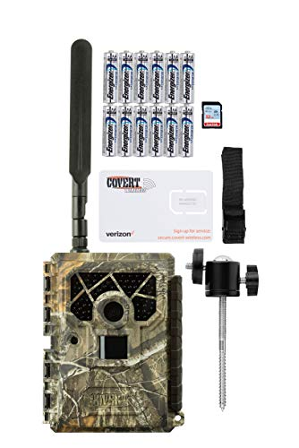Covert Blackhawk 20 LTE Verizon Trail Camera with Batteries, SD Card, and Mount