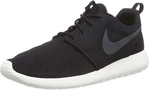Nike Men's Roshe Run Black/Anthracite-Sail,8 D(M) US
